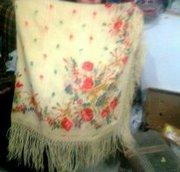 Старинный шаль