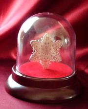 Подарочный сувенир Снежинка
