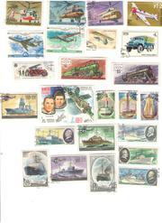Почтовые марки и спичечные этикетки №14