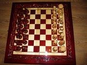 Уникальные шахматы ручной работы