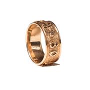 коллекционное золотое кольцо москва-80