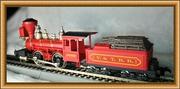 Модель локомотива 2 - 4 - 0